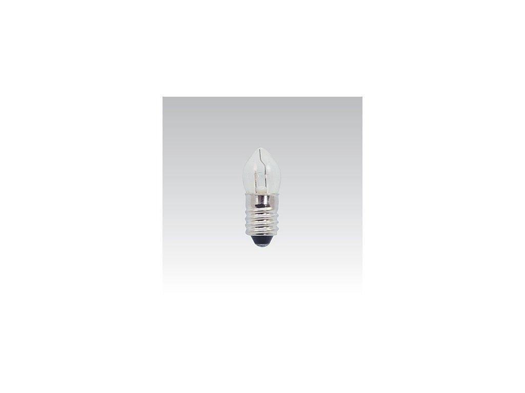 Kryptonová žárovka 3,7V 300mA čirá E10