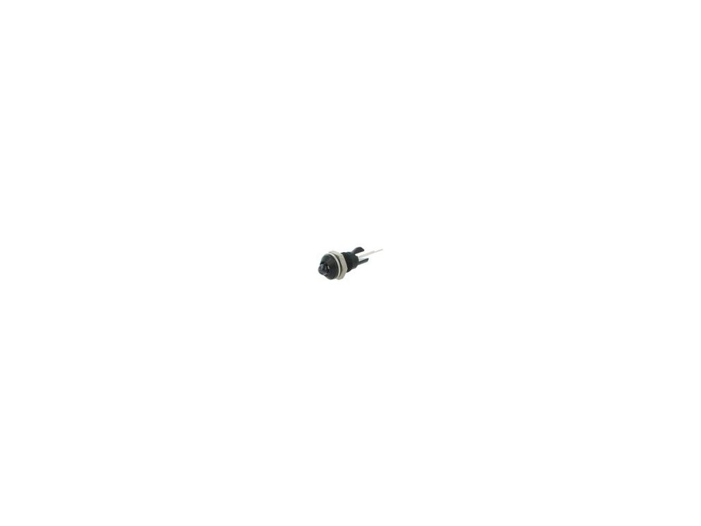 Kontrolka: LED vypouklá Otv: Ø8mm do plošného spoje mosaz