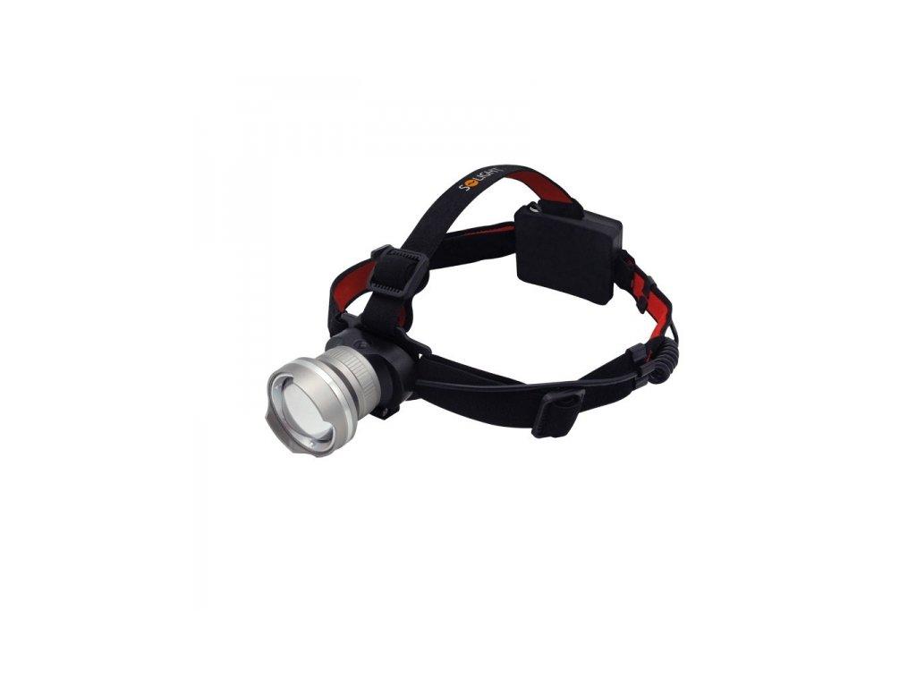 LED čelová svítilna 300lm Cree XPG R5 fokus 3x AA