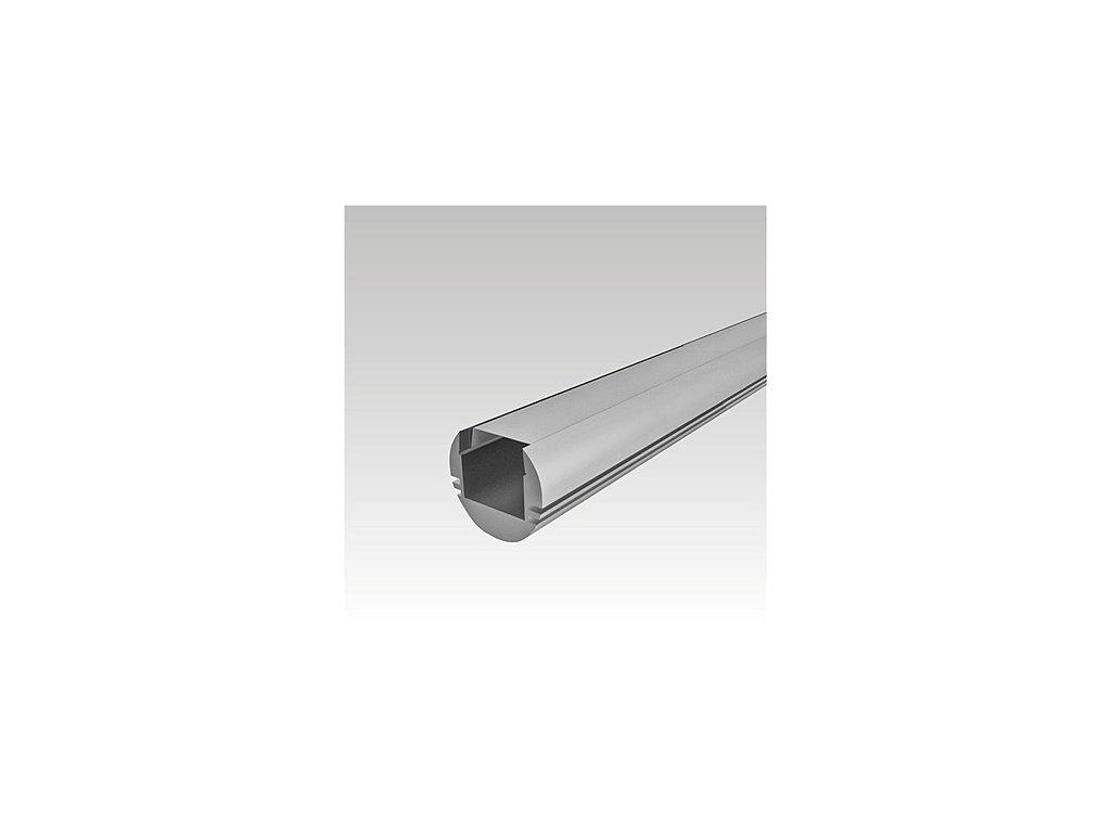 Al lišta+difusor P1816/2m opal kulatá