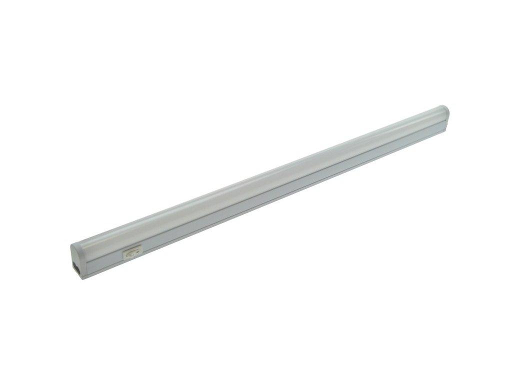 LED kuchyňské svítidlo T5, vypínač, 9W, 4100K, 54cm