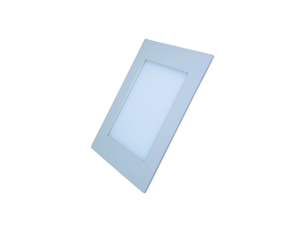 LED mini panel podhledový 12W 900lm 3000K tenký čtvercový bílé
