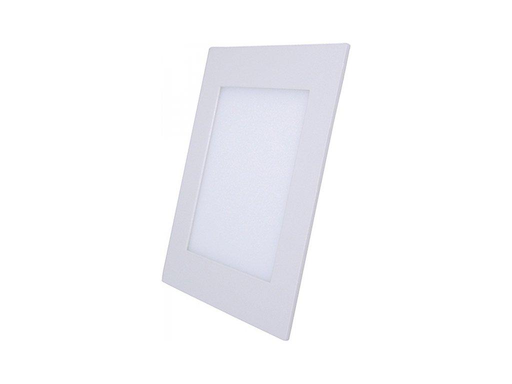 LED mini panel, podhledový, 24W, 1800lm, 3000K, tenký, čtvercový, bílé