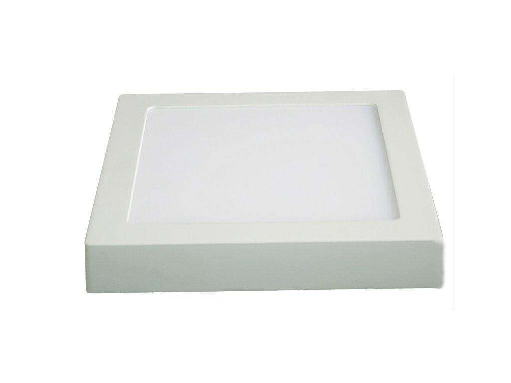 LED nástěnné svítidlo 12W 900lm 3000K čtvercové bílé