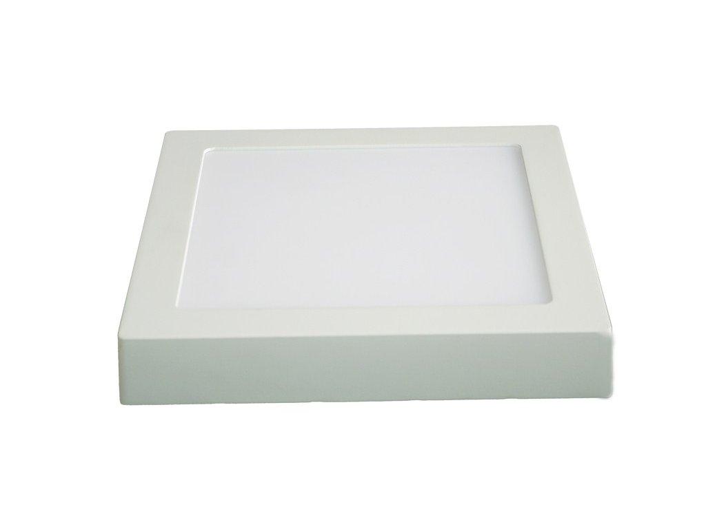 LED panel přisazený 18W 1530lm 3000K čtvercový bílý