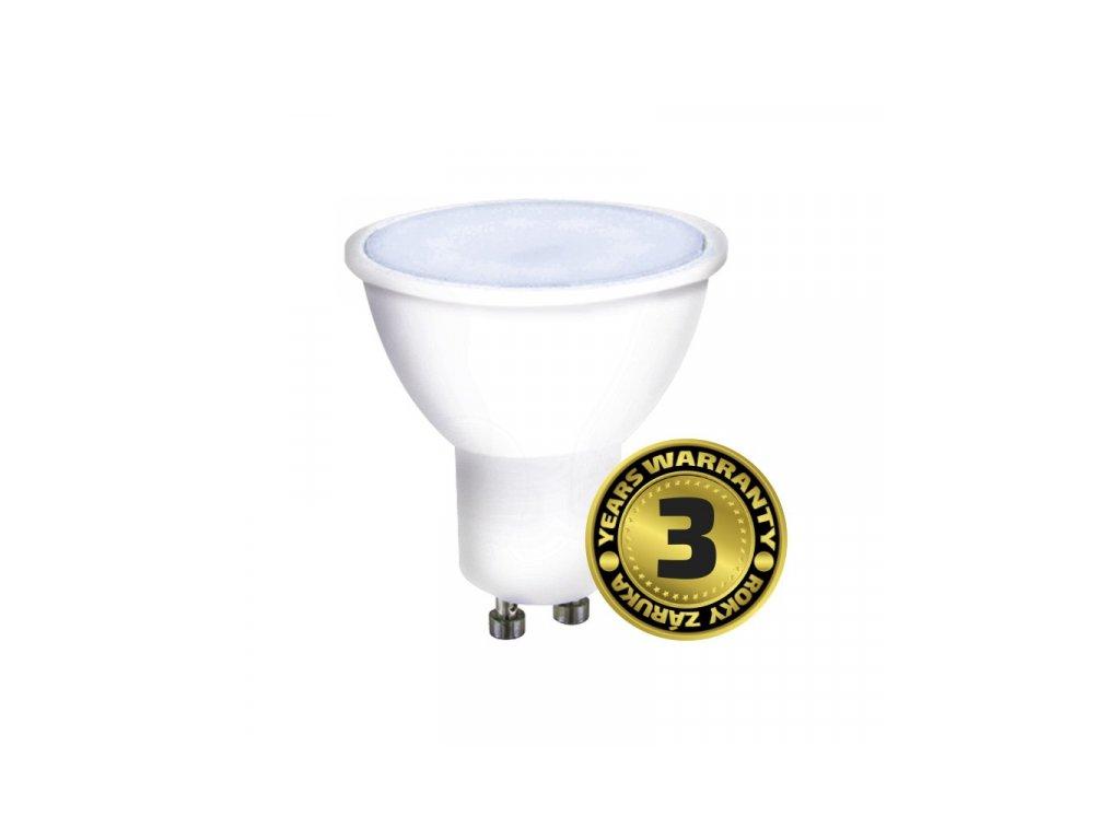 LED žárovka, bodová , 7W, GU10, 6000K, 560lm, bílá