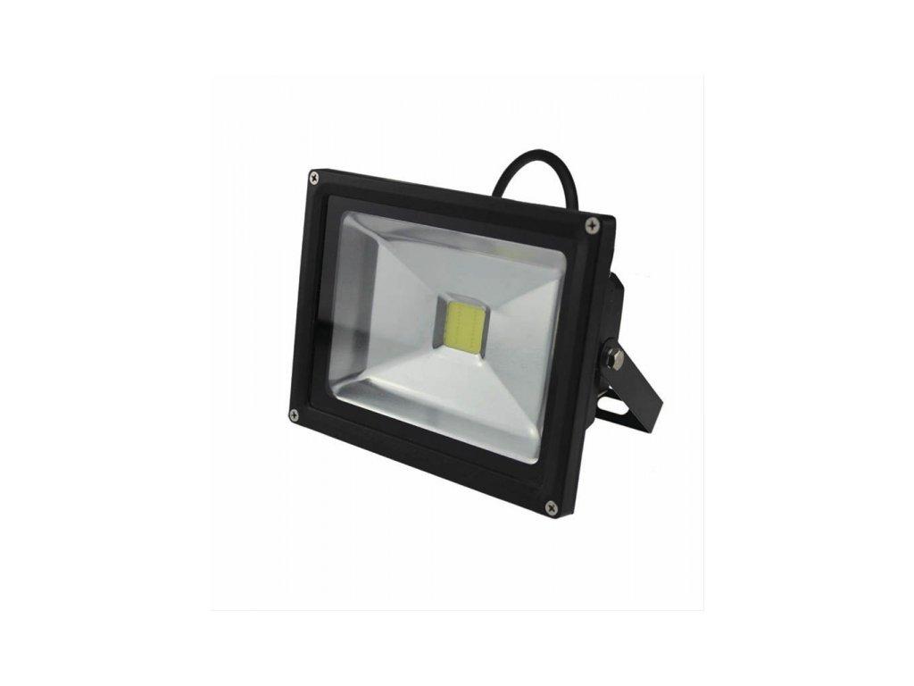 LED venkovní reflektor 20W 1400lm AC 230V černá