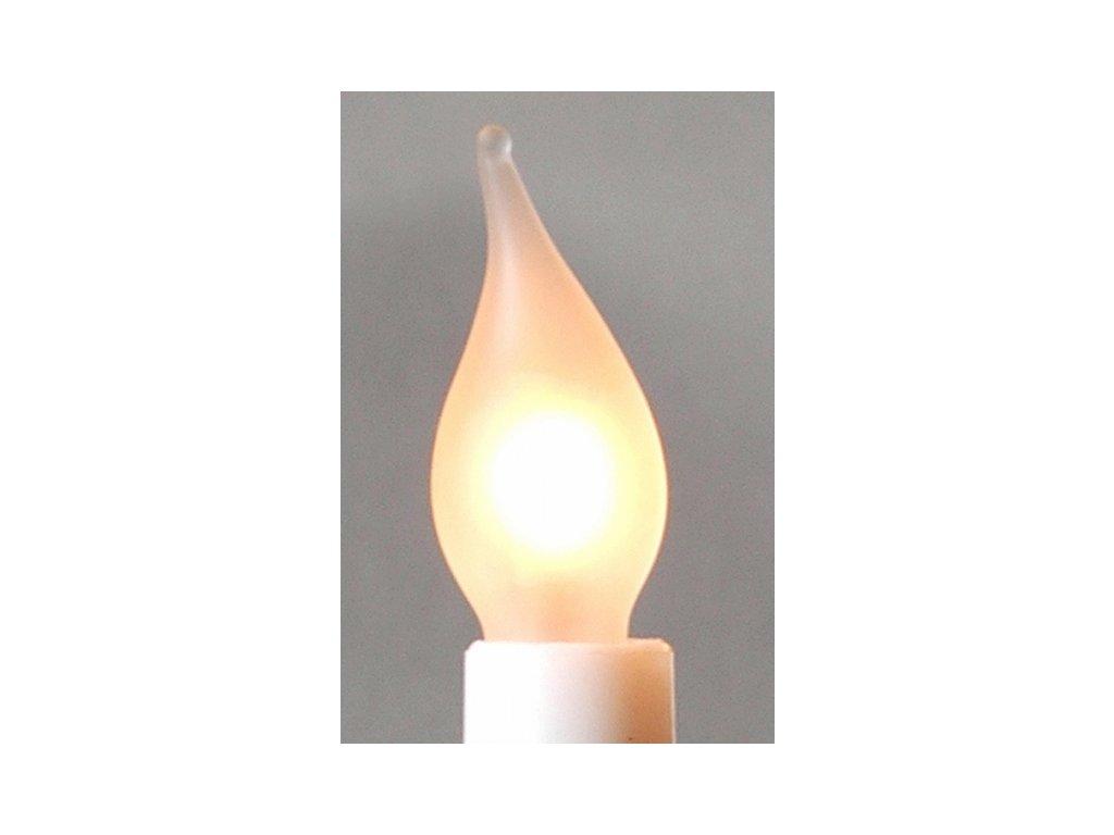 Žárovka tažená pro svícen 34V/3W cena za 1 ks