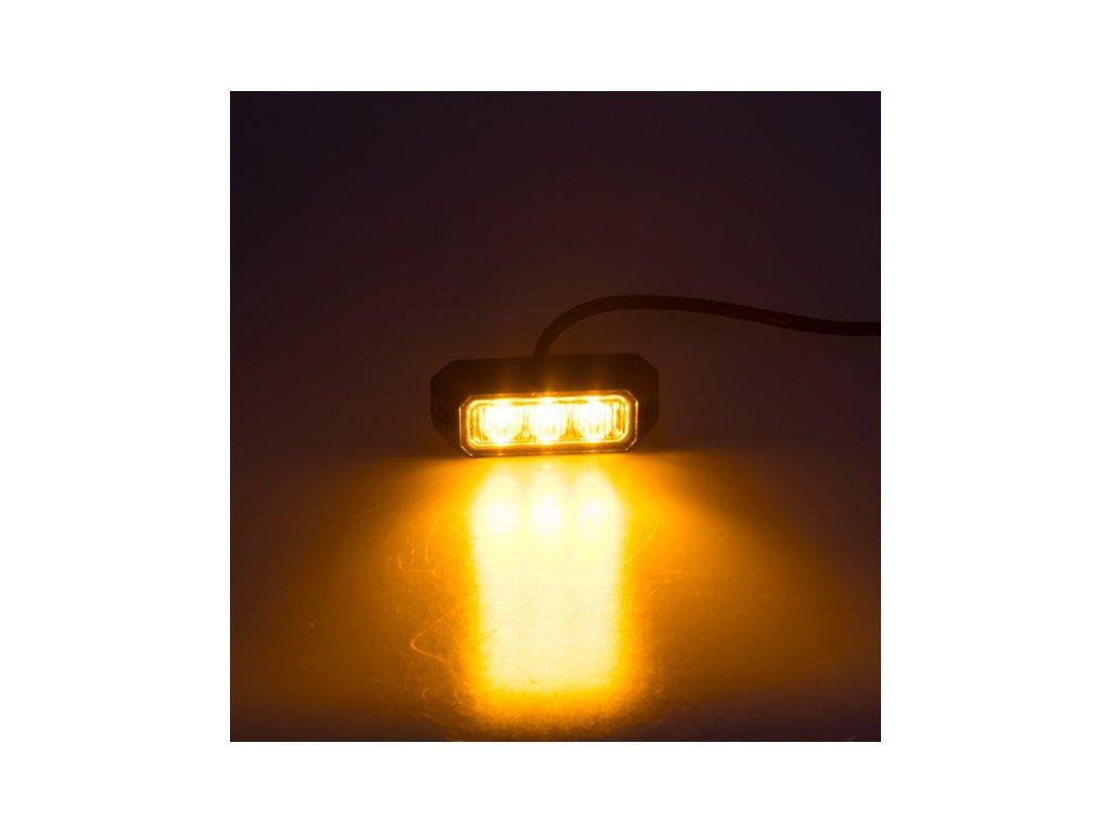 PREDATOR 3x3W LED 12-24V oranžový homologace