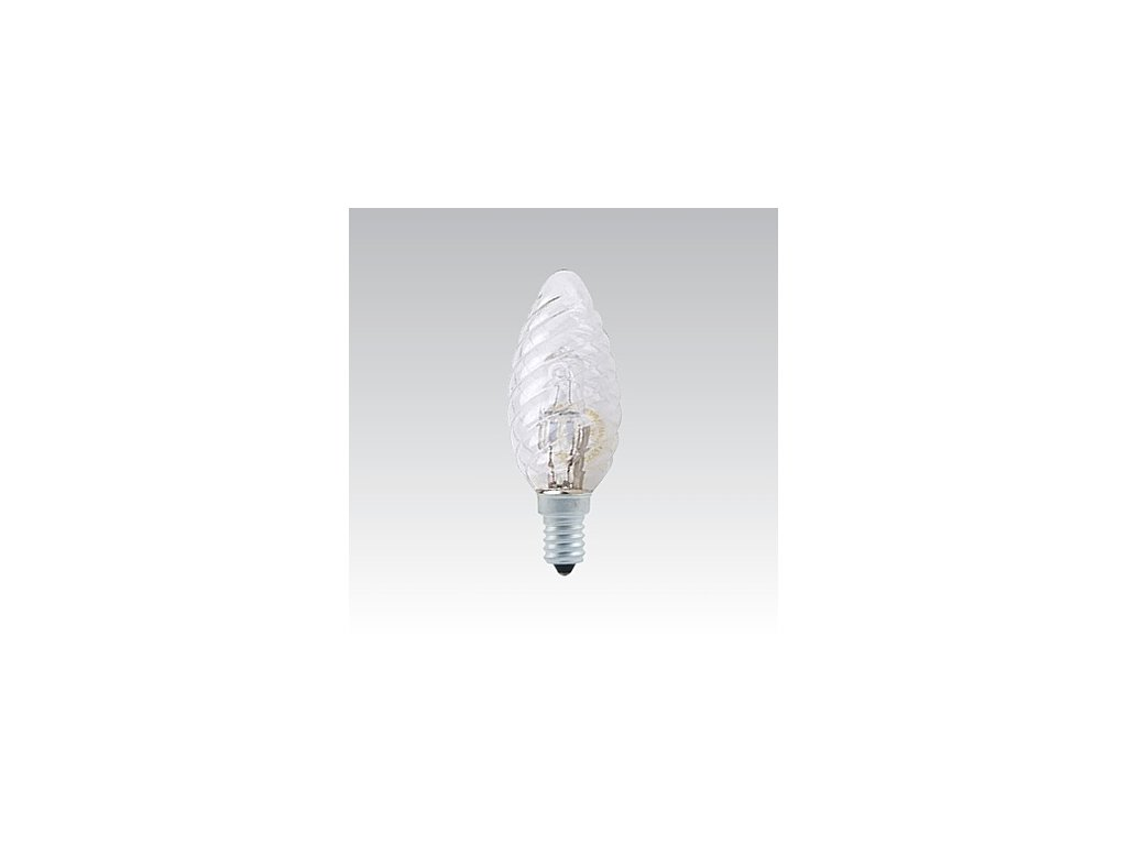 CLASSIC ES 18W B35 230-240V E14 TWISTED CLEAR
