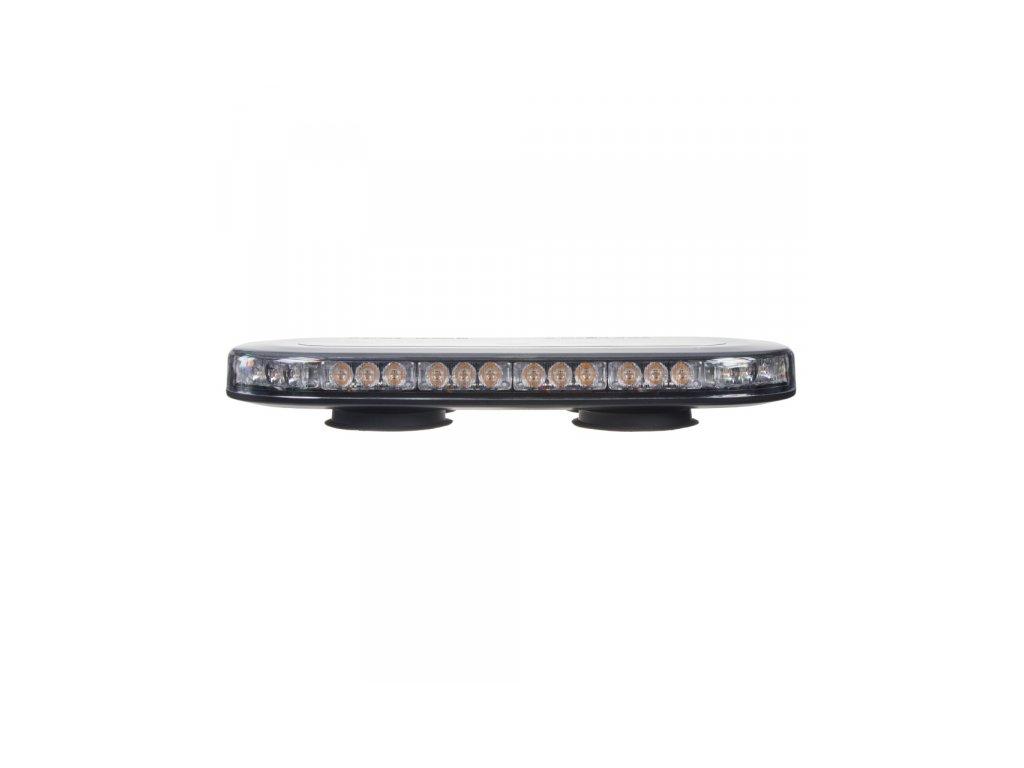 SLIM rampa oranžová 42LEDx3W magnet 12-24V 365mm ECE R10