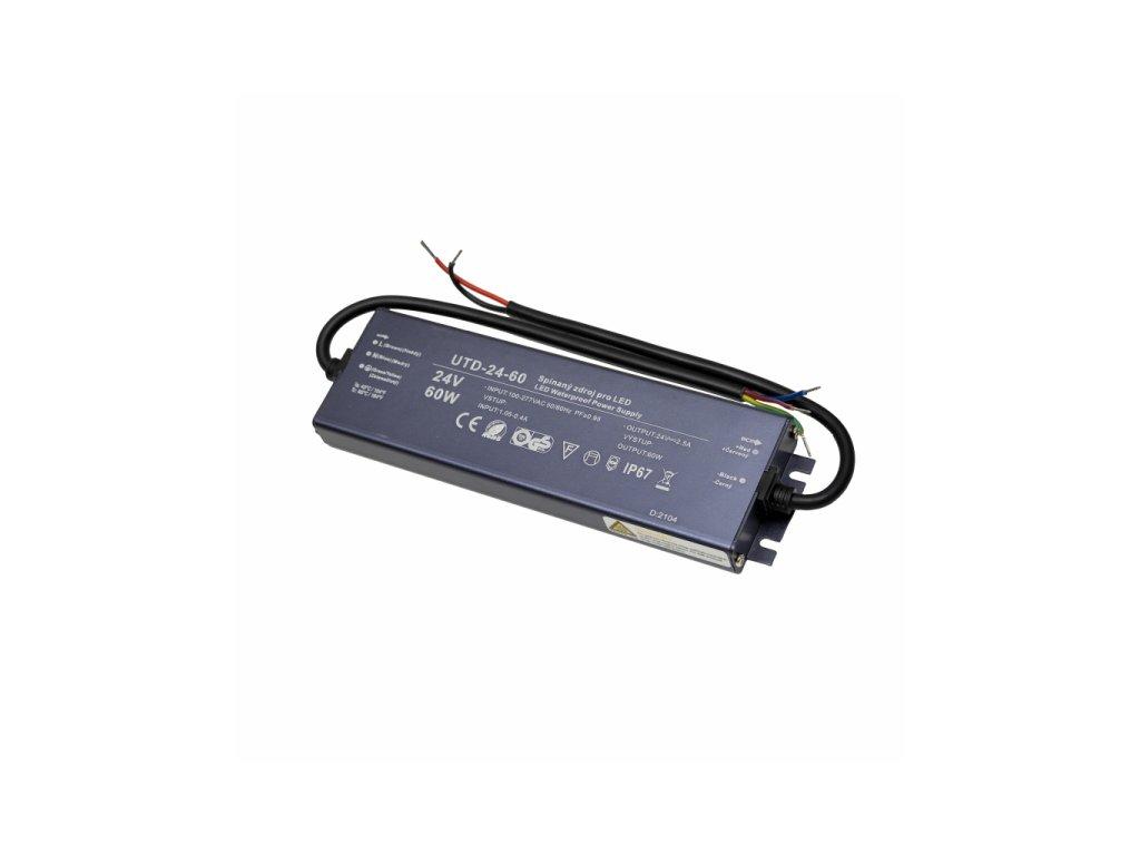 LED zdroj 24V 60W UTD-24-60 Záruka 5 let - LED zdroj 24V 60W UTD-24-60 Záruka 5 let