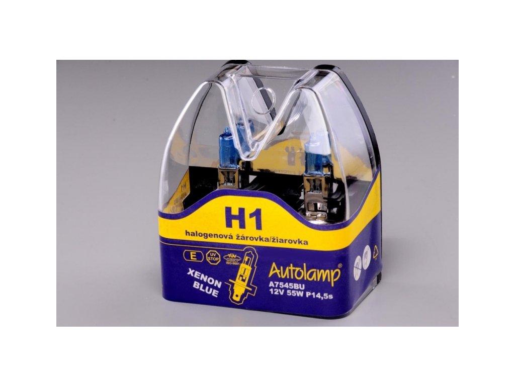 H1 12V 55W XENON BLUE v blistru