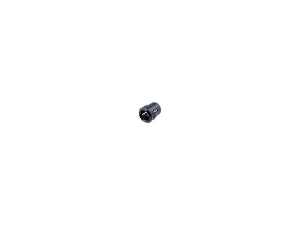 Držák LED 10mm plast vypouklá