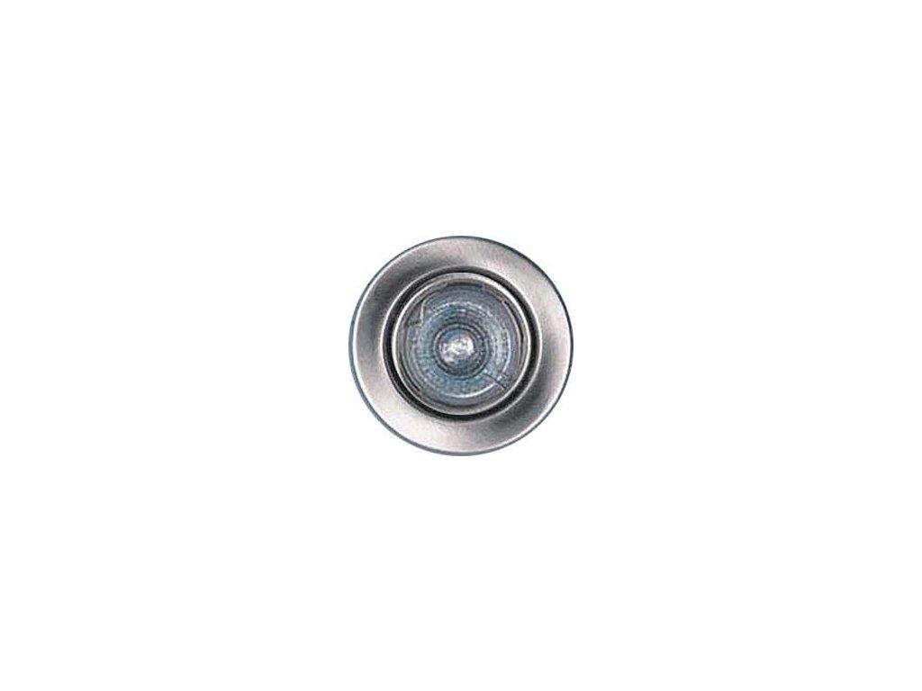 Svítidlo podhl.pevné chrom.mat,pro žár.50mm MR,G