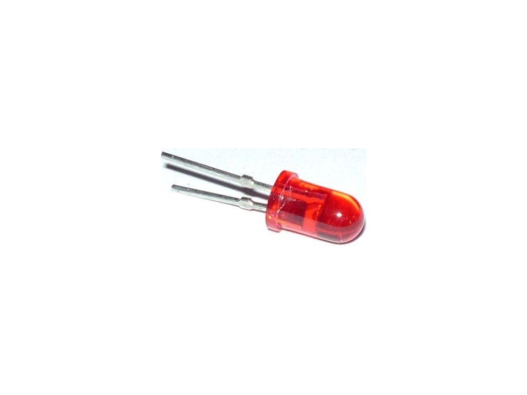 LED 5mm červená transparentní 3LN21