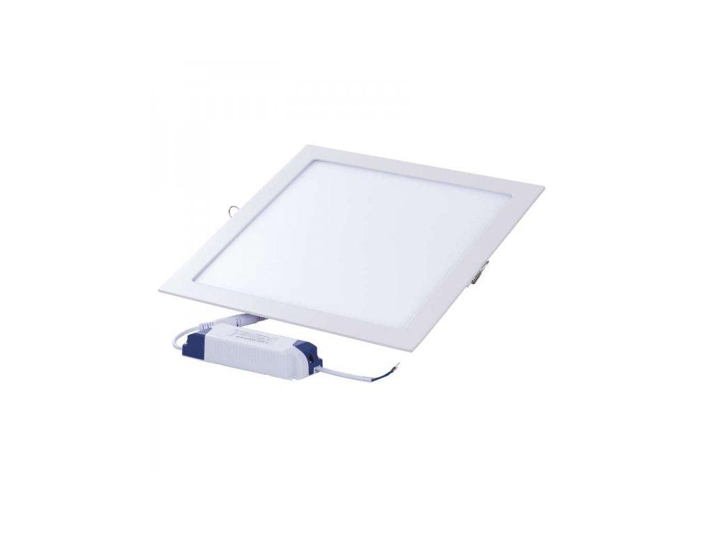 Vestavné LED svítidlo čtverec 18W IP20 teplá bílá