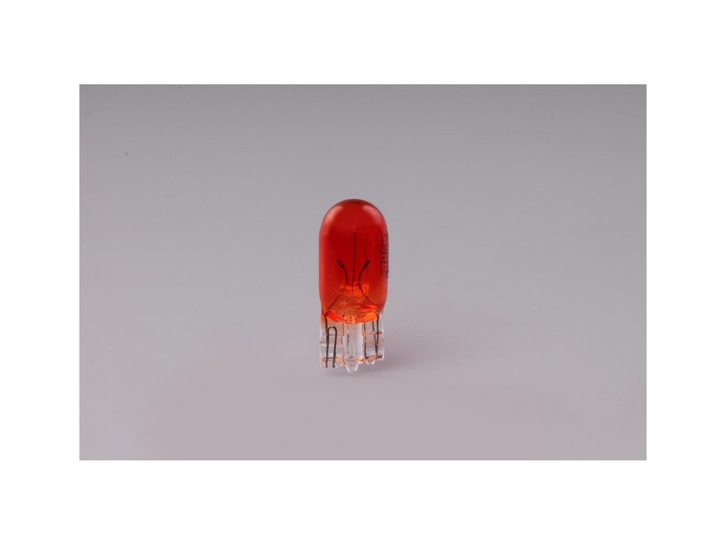 Žárovka W5W T10 12V 5W W2,1x9,5d oranžová