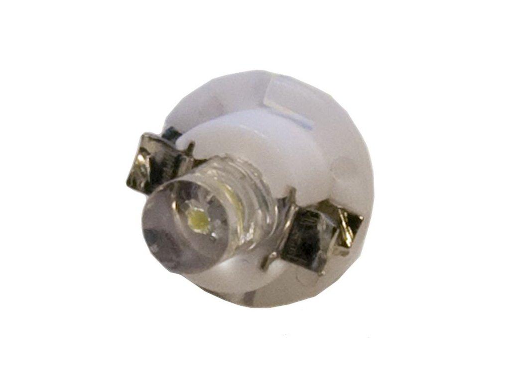 LED žárovka B8,5d 12V bílá rozptylka 140°