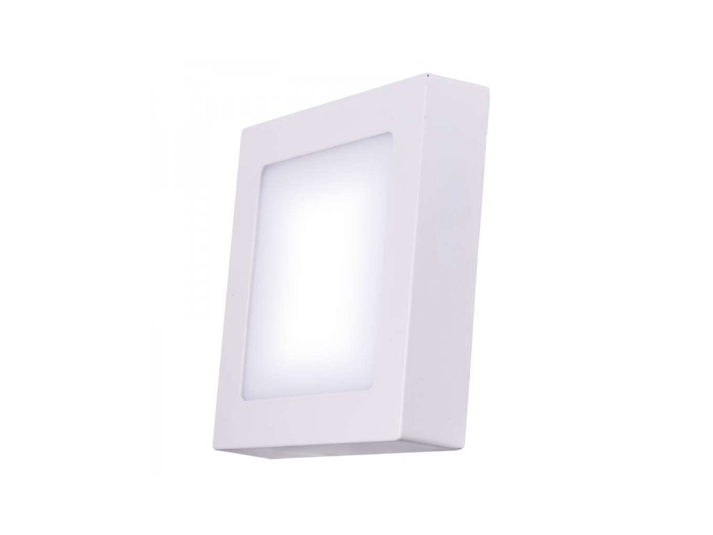 LED přisazené svítidlo čtverec 24W teplá bílá IP20