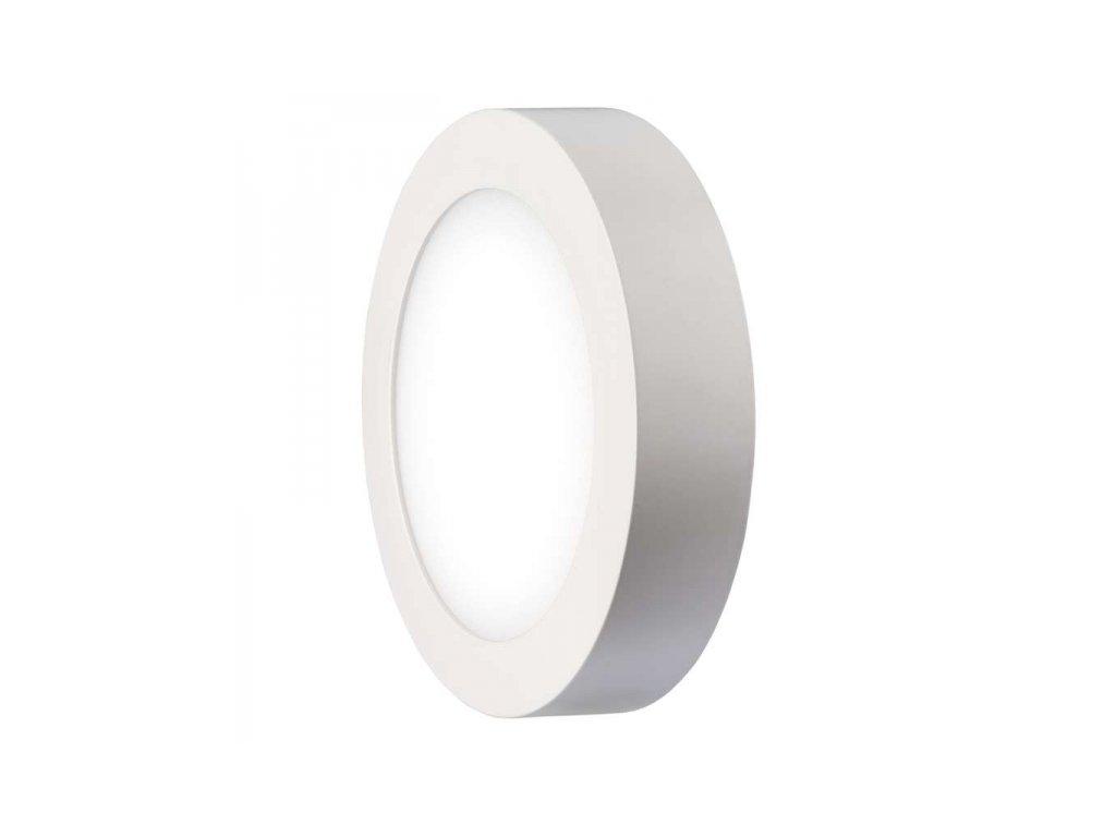 LED přisazené svítidlo kruh 18W teplá bílá IP20