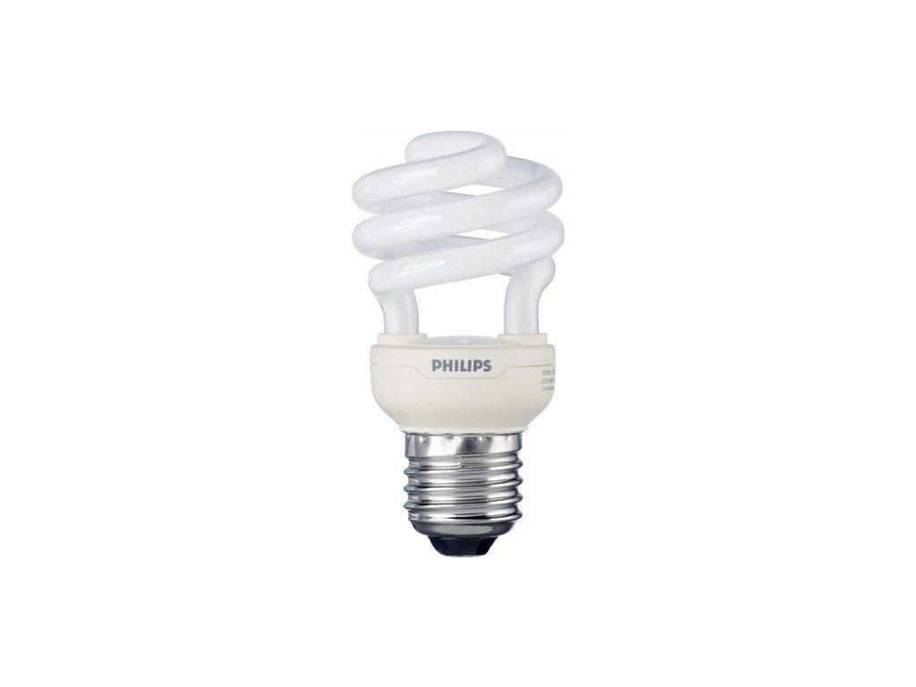 PHILIPS TORNADO E27 12W/827 úsporná žárovka