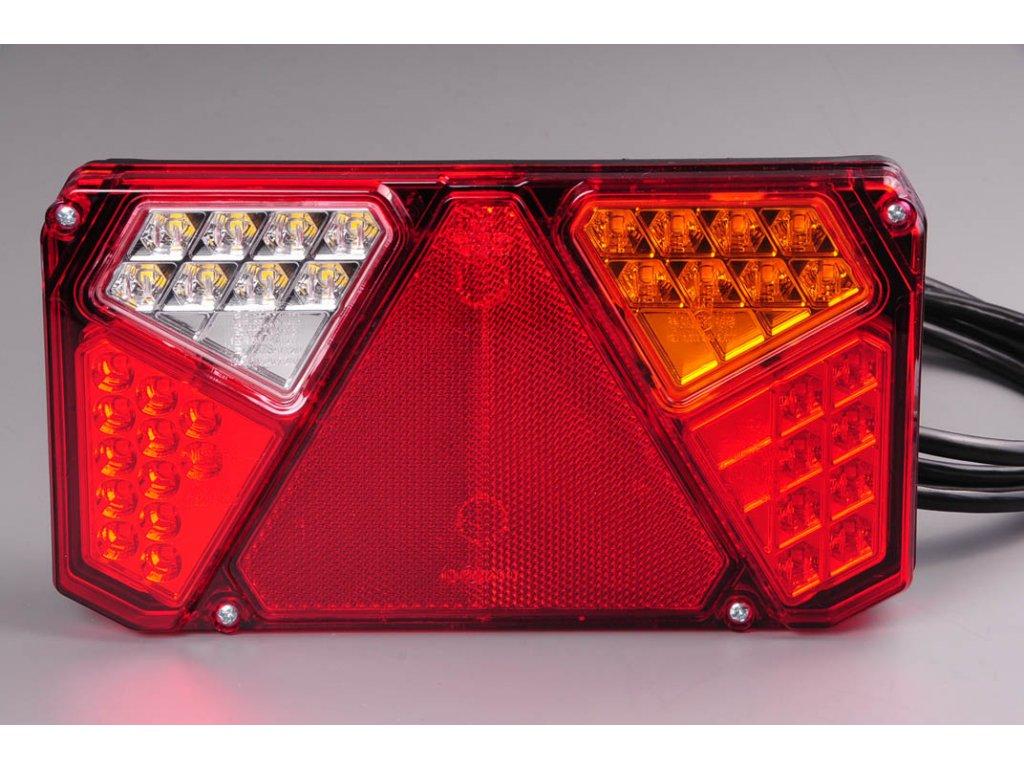 Světlo zadní sdužené LED W125/916 pravé 12/24V