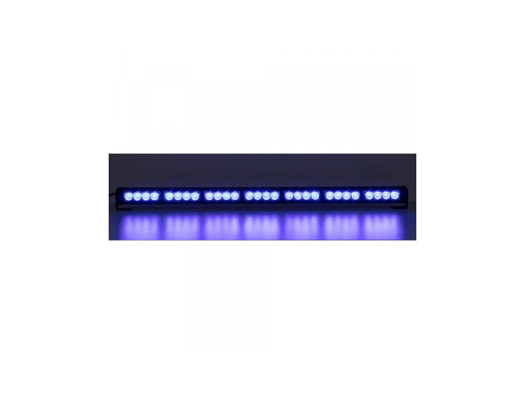 LED světelná alej 28x LED 3W modrá 800mm ECE R10