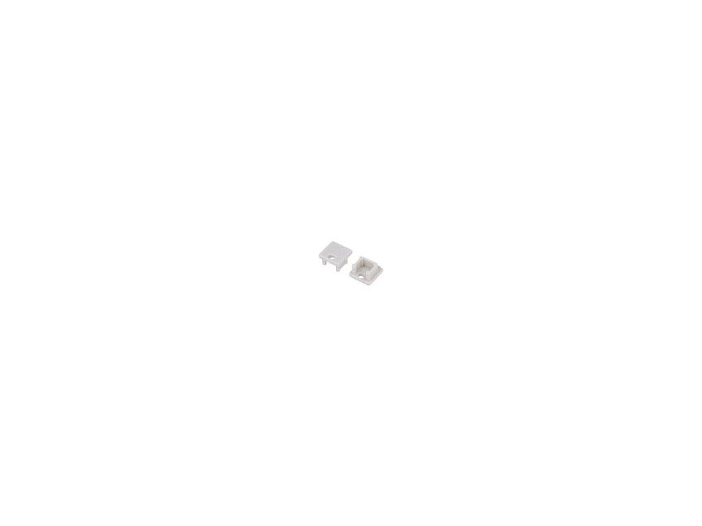 Záslepka pro LED  profily šedá ABS Určení: SMART10