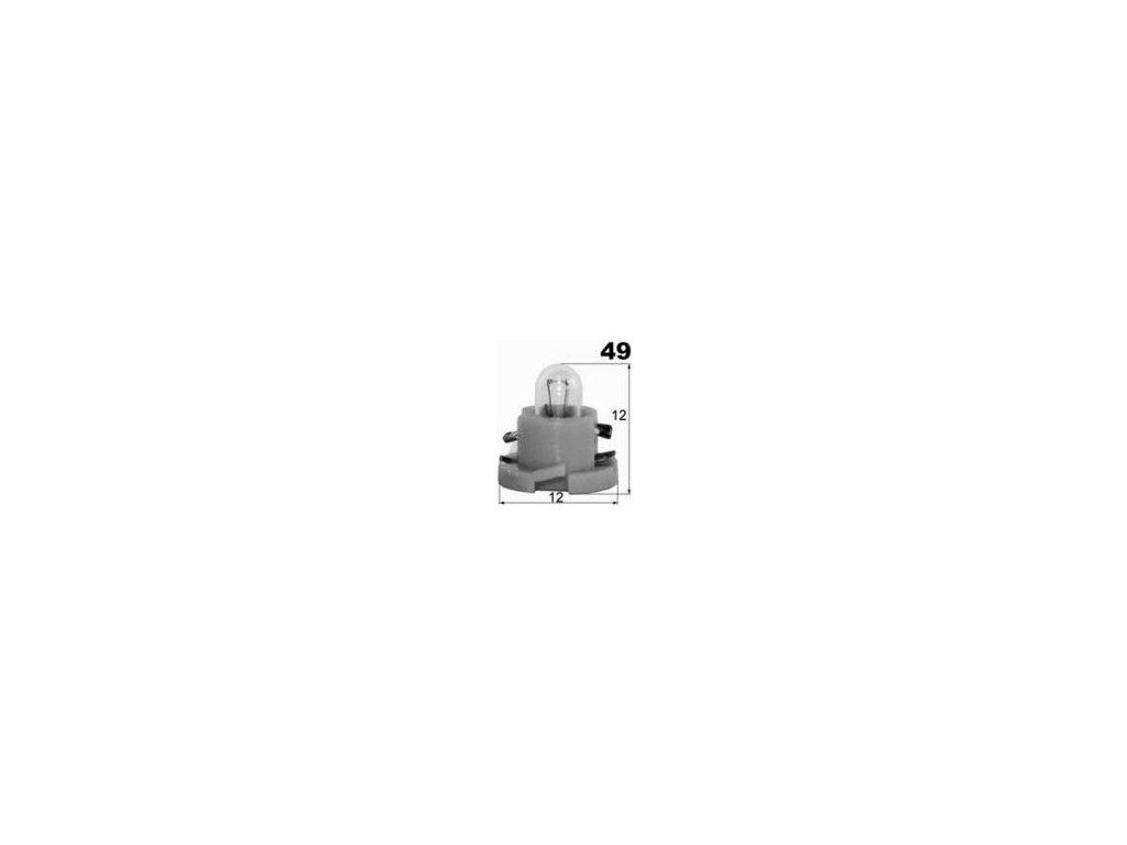 žárovka 24V 1,4W T5 plast WAIGEER