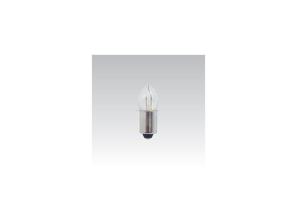 Kryptonová žárovka 2,5V 300mA čirá P13,5S