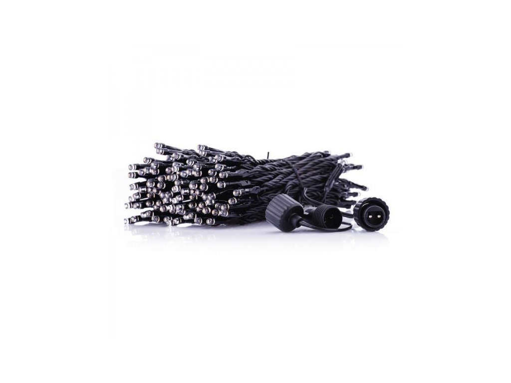 Spojovací dekor. řetěz - krápník 100 LED teplá bílá