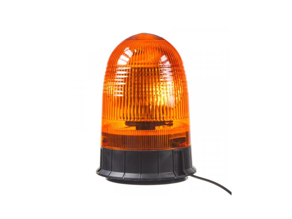 Halogen maják, 12-24V, oranžový magnet, ECE R65