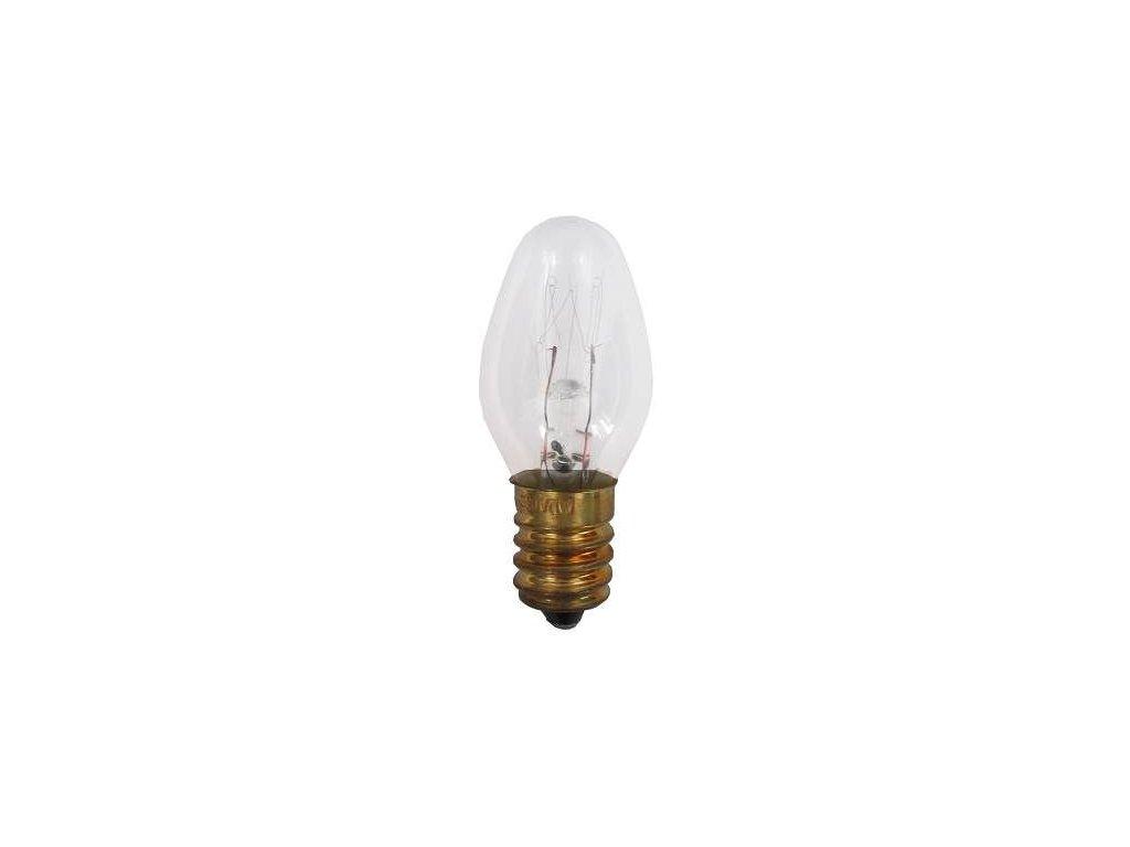 Žárovka E14 svíčková 230V/7W