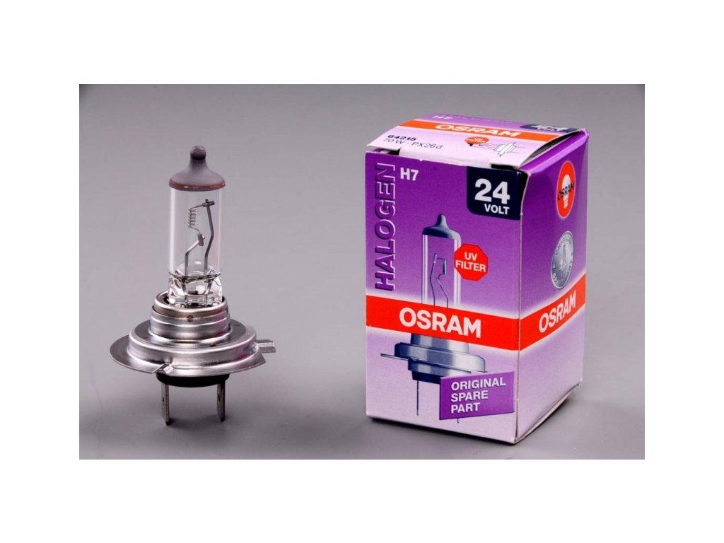 žárovka H7 24V 70W PX26d OSRAM