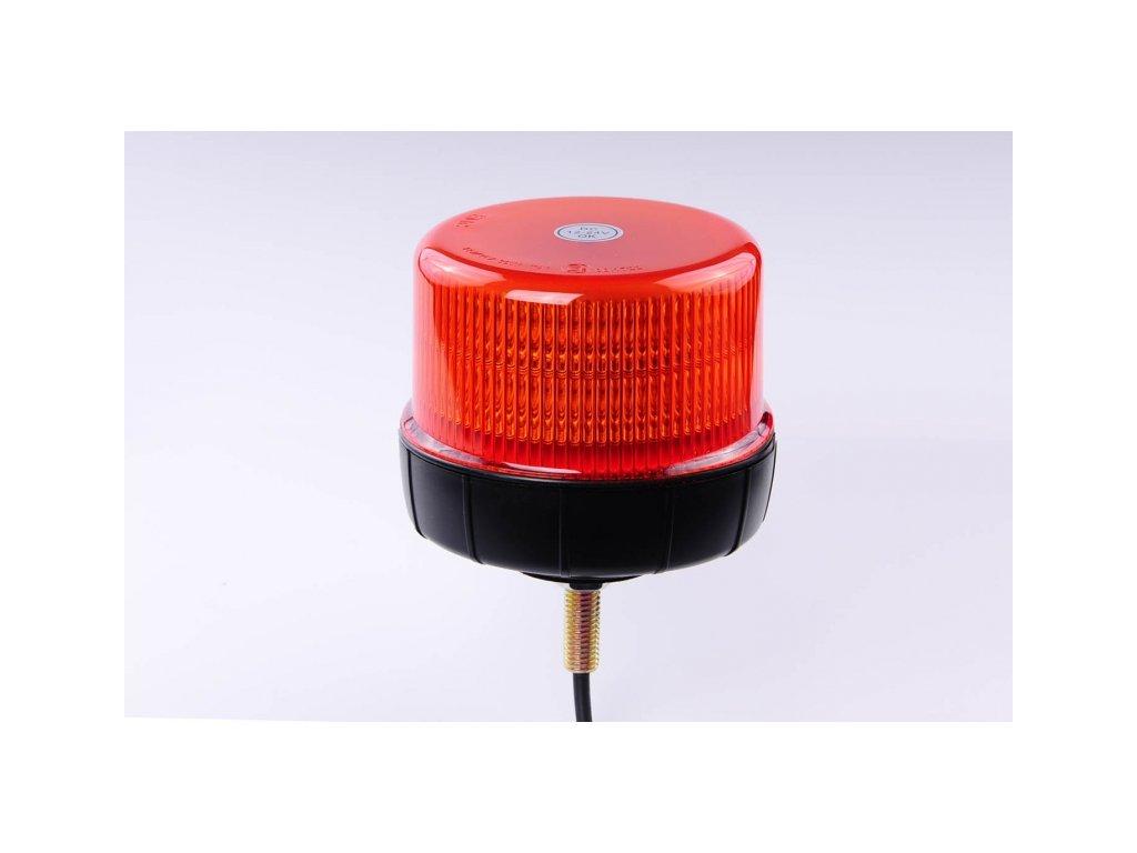 maják LED na šroub 12V-24V oranžový 12 LED*3W