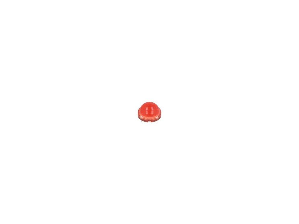 LED 20mm červená 55÷100mcd 120° Poč.výv: 12 20mA 1,85÷2,5V