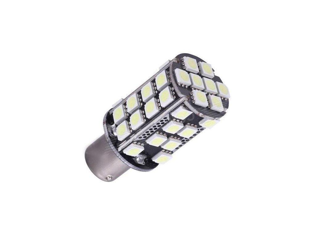 Žárovka LED Ba15S 10-30V/6W bílá, CANBUS