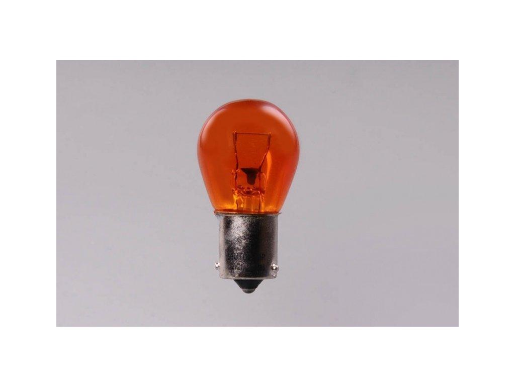 žárovka 24V 21W BAU15s oranžová WAIGEER