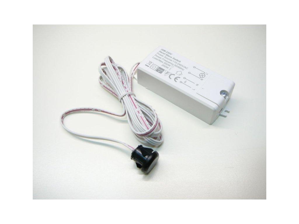 Spínač mávnutím ISM-230V bezdotykový pro LED - Spínač mávnutím ISM-230V