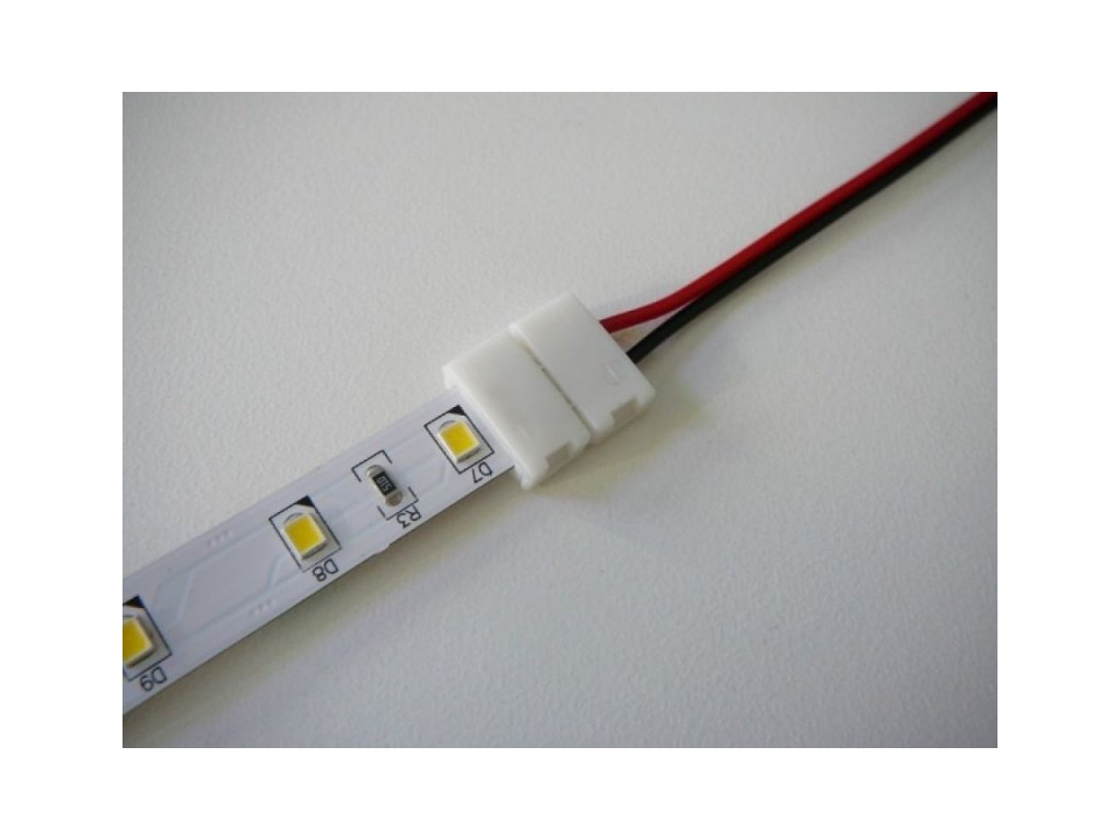 1barva spojka click s kabelem - 10mm