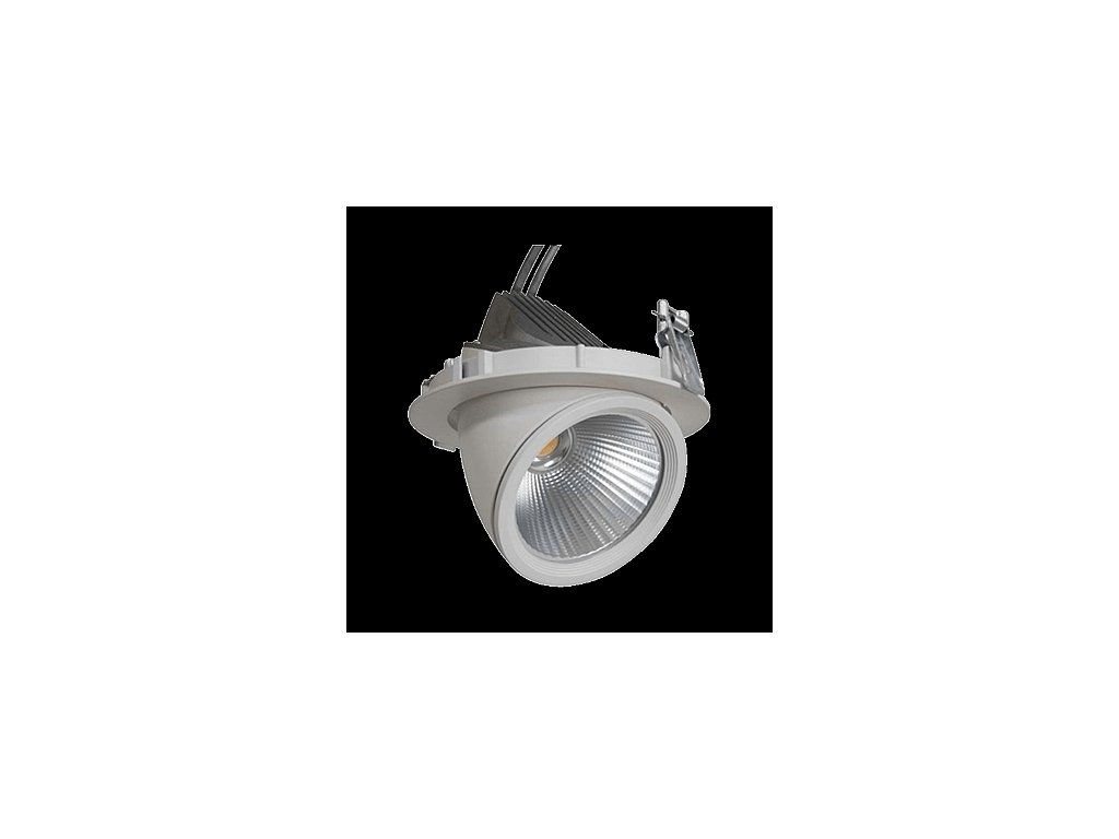 GIMBAL LED COB DOWNLIGHT 20W/940 24° CRI90+ Ø145x120mm IP20