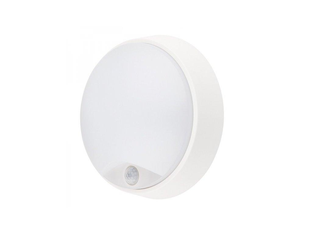 LED venkovní osvětlení se senzorem, IP54,14W, 1000lm, 4000K, 22cm