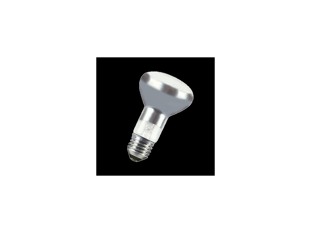 Reflektorová žárovka R63 240V 75W E27 30° matná