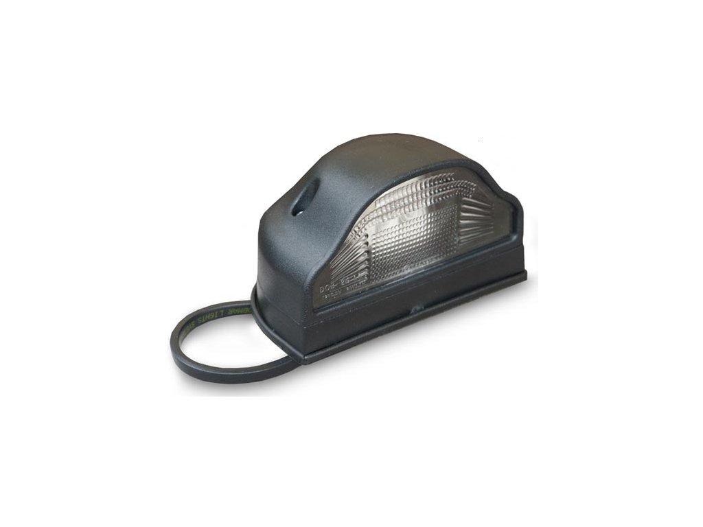 světlo pro osvětlení RZ LED 12V+24V černé
