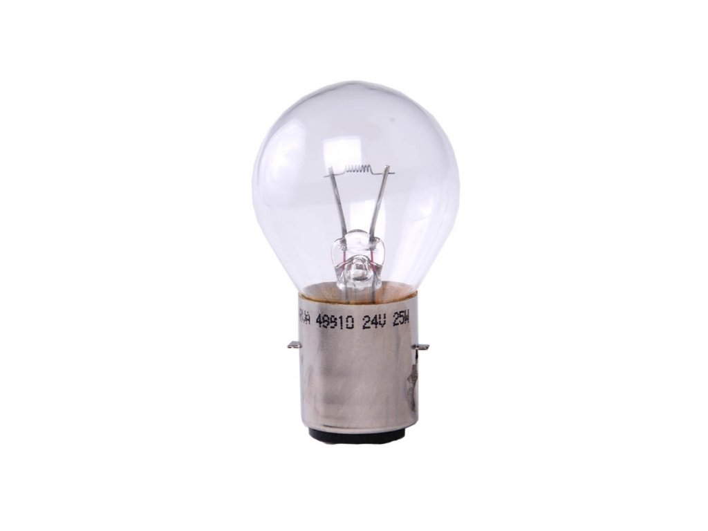žárovka 24V 25W BA20d