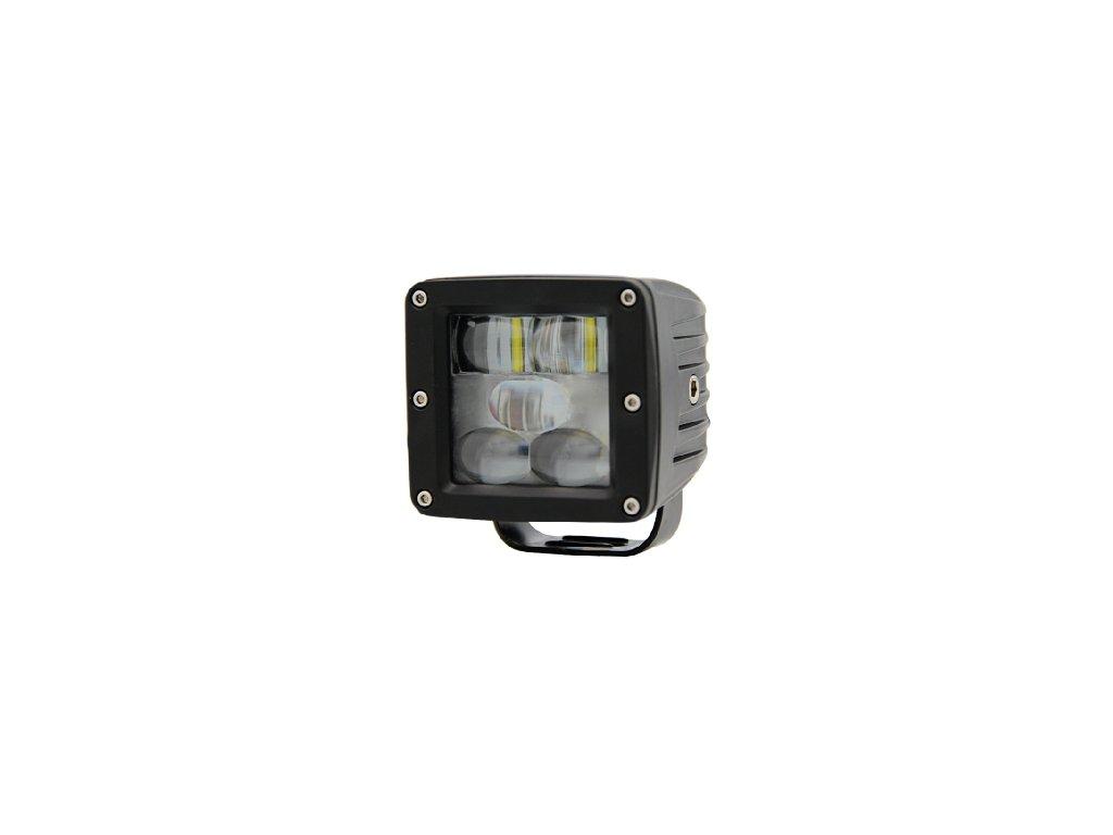 PROFI LED výstražné pruhy 10-80V 5LED modrý 82x76mm
