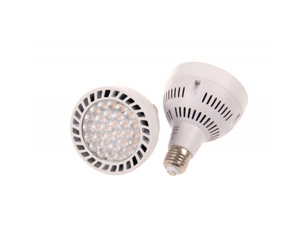 LED žárovka E27 PAR30 OS45-24 - Studená bílá