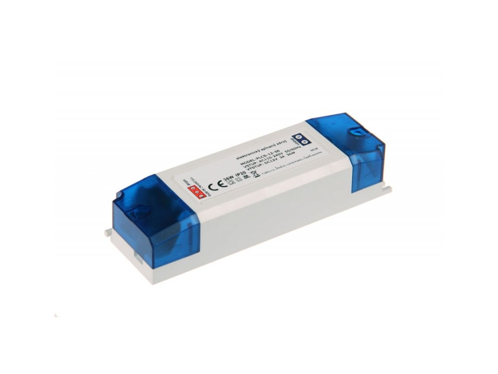 LED zdroj PLCS 12V 36W vnitřní - 12V 36W zdroj vnitřní PLCS-12-36