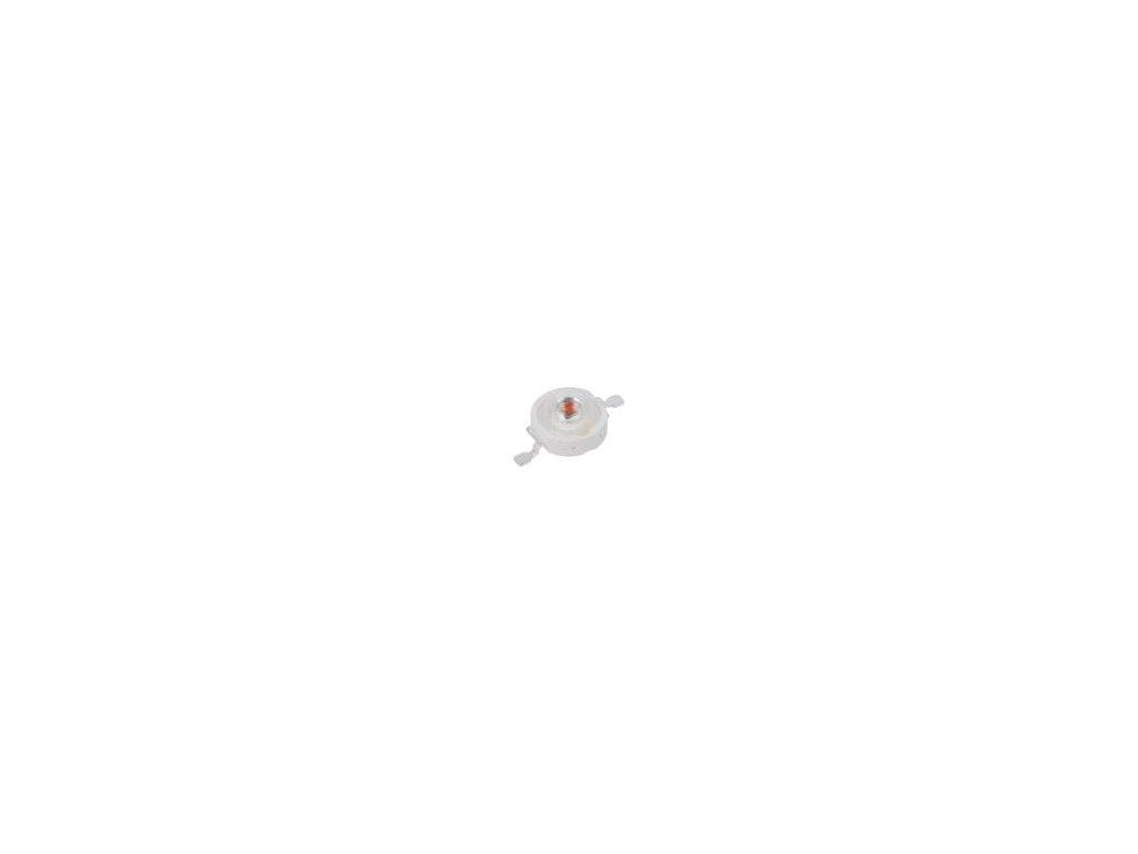 LED výkonová EMITER jantarová Pmax: 1W 51,7÷58,9lm 130°